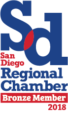 Proud Member of the San Diego Chamber of Commerce!